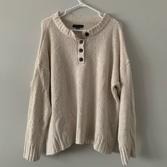 American Eagle Outfitters Sweaters - AE Henley Pullover Sweater
